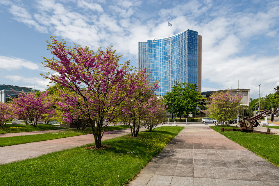 Photo of WIPO building